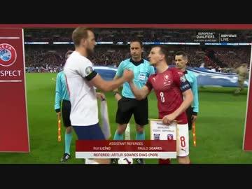 《EURO2020》 【GS:グループA】 [第1節] イングランド vs チェコ (2019年3月22日)