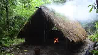 ホモと学ぶ泥壁の小屋作り