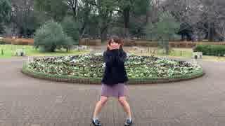 【ゆりあん】好き!雪!本気マジック【踊ってみたin代々木公園】