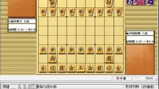 気になる棋譜を見よう1508(中田八段
