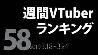 【第58回】週間VTuberランキング【PANORA】【非公式】