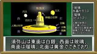 宗教世界における「山」 仏教編 須弥山【ゆっくり解説】