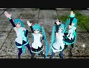 【MMD】『Blessing』by みくみくシスターズ