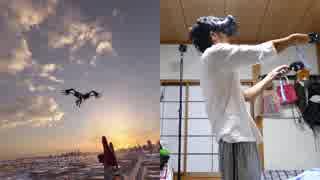 【VRゲーム実況】HTCviveでスパイダーマンホームカミングが体験できます!