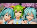 【Ray-MMD】Gumi&ミクさんで、スマイリー^2 【第11回ラジP杯参加作品】 1080p60fps