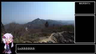 鎌ヶ岳RTA 0:53:08 + α