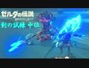 【実況】新たな冒険へ!ゼルダの伝説 ブレスオブザワイルド 剣の試練リベンジ【中位後編】