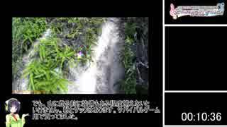 【デレステ】春の古鷹山RTA