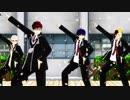 【MMD青エク】サウザン桜のダンスにトライしてみた【1080p】