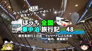 【ゆっくり】車中泊旅行記 48 鹿児島編2