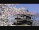 上田城跡公園の満開の桜 2019年4月16日撮影