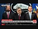 【ロシア疑惑】バー司法長官のモラー報告書公開に関する記者会見【全編版】