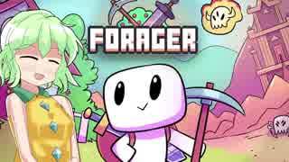 【ゆっくり】ドット絵世界の島開拓はじめました【Forager】#3