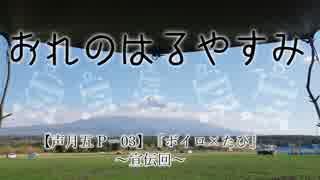 【紲星あかり車載】おれのはるやすみ~ボイロ×たび~ 宣伝回【声月P-03】