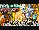 【モンスト実況】超久々の新超絶!カイメイジュウ初降臨!【初日・初見】