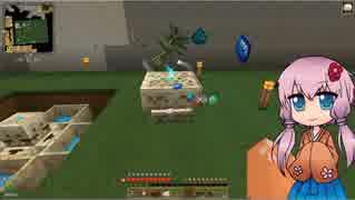 【Minecraft】夜空と自然とドラゴンと 5日目【ボイロ+ささら実況】