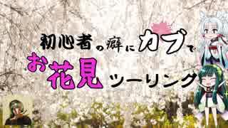 【ずんタコ車載】初心者の癖にカブでお花