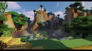 【Minecraft】トロッコと絶景を求めてpart