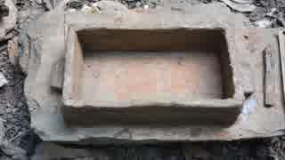 ホモと学ぶ焼成粘土レンガ作り