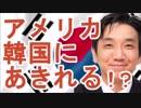 【渡辺哲也】アメリカ、韓国にあきれる!?