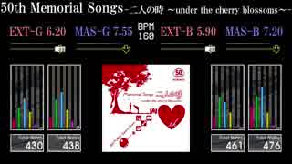 【GITADORA】50th Memorial Songs -二人の時 ~under the cherry blossoms~-【EXCHAIN】