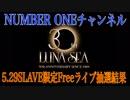 529 LUNA SEA SLAVE限定Freeライブの抽選がでました!