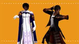 【ジャンル混合MMD】刀剣と英霊でロキ【刀