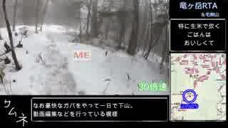 【ゆっくり】竜ヶ岳(山梨県)RTA【リアル