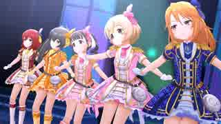 【デレステ】桜舞隊の5人で「無重力シャト