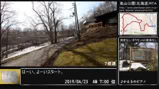 【ゆっくり】嵐山公園(北海道)・近文山RTA試走【タイム計測・ポケモンGOなし】