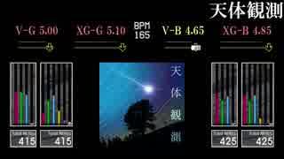 【GITADORA】天体観測【EXCHAIN】