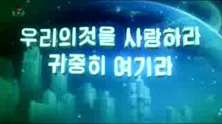 朝鮮中央テレビで問題のBGMが!?