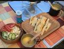 【野外料理】デイキャンプでサンドイッチ【キャンプ飯】