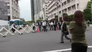 北朝鮮による短距離の飛しょう体の発射を受けて抗議街宣in朝鮮総連前 令和元年5月4日
