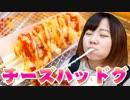 関西飯テロ動画 チーズハッドグ