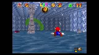 Super Mario 64 The Green Stars Course 3 『CALIGNOUS COVE』(前編)