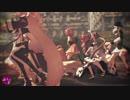 【MMD花騎士】おっちゃんは満足しました・・。こんにゃく式花騎士たち+ステンノ様で『 help me!!』
