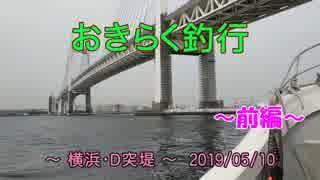 【横浜・D突堤】 おきらく釣行 【2019051