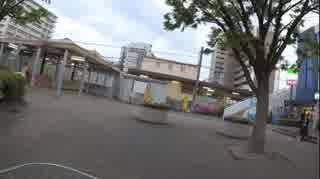 平成31年5月13日18時1分 岩倉駅に集団ス
