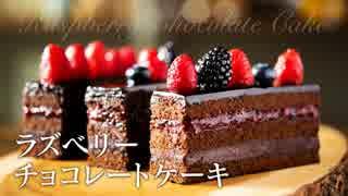 ラズベリーチョコレートケーキ【お菓