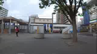 平成31年5月16日18時2分 岩倉駅に集団ス