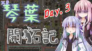 【Factorio】琴葉開拓記_DAY.3【VOICEROID実況】