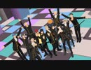 【MMD銀魂】黒い人たちのDie Young