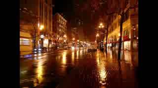 【癒し】雨粒が傘に当たる音《10分》(睡