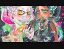 【splatoon2】テンタクルズを水彩で描いてみた【メイキング】