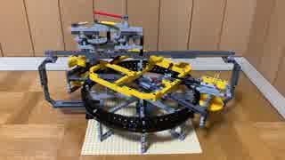 LEGOで振り子時計からトゥールビヨンまで作った。リメイク版