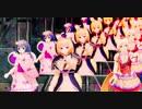 【MMD花騎士】キツネノボタン達と病人とヤンデレ添え『paranoia』1080p