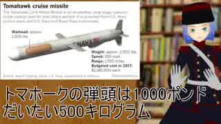 偏見軍人ヘンミーの軍事雑談 巡航ミサイル