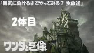 """【PS4】 """" ワンダと巨像 """" 眠気に負けるまでやってみる?生放送 2体目"""