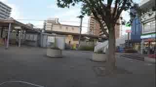平成31年5月29日18時32分 岩倉駅に集団ス